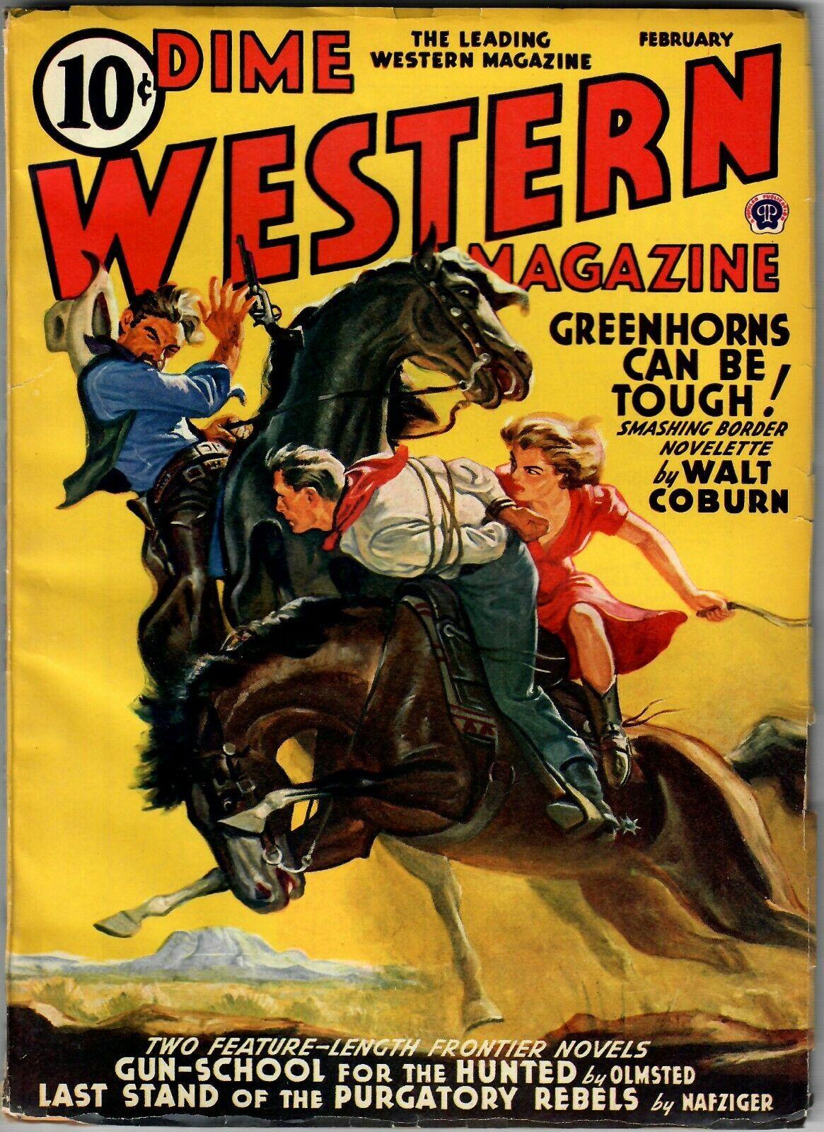 Dime Western Magazine February 1941